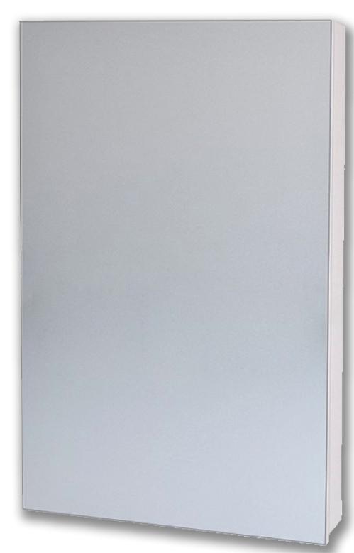 Зеркальный шкаф 40х80 см белый Alvaro Banos Viento 8403.1000