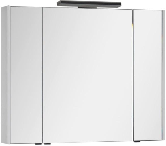 Зеркальный шкаф 104х85 см белый Aquanet Франка 00183047 шкаф зеркало aquanet франка 183044