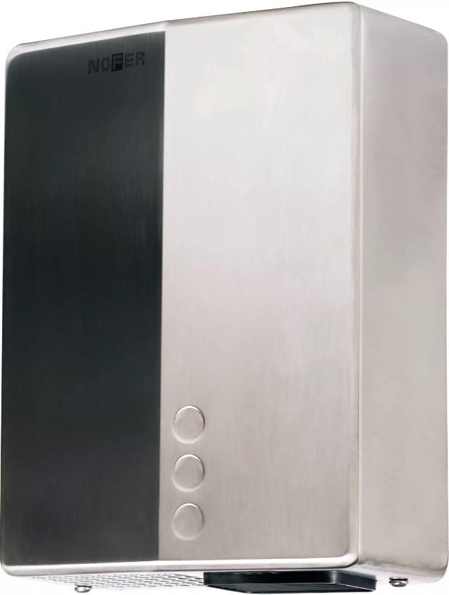 Сушилка для рук матовый хром Nofer Bigflow Evo 01481.S металлическая сушилка для рук nofer nofer bigflowevo 2050 w глянцевая 01481 b