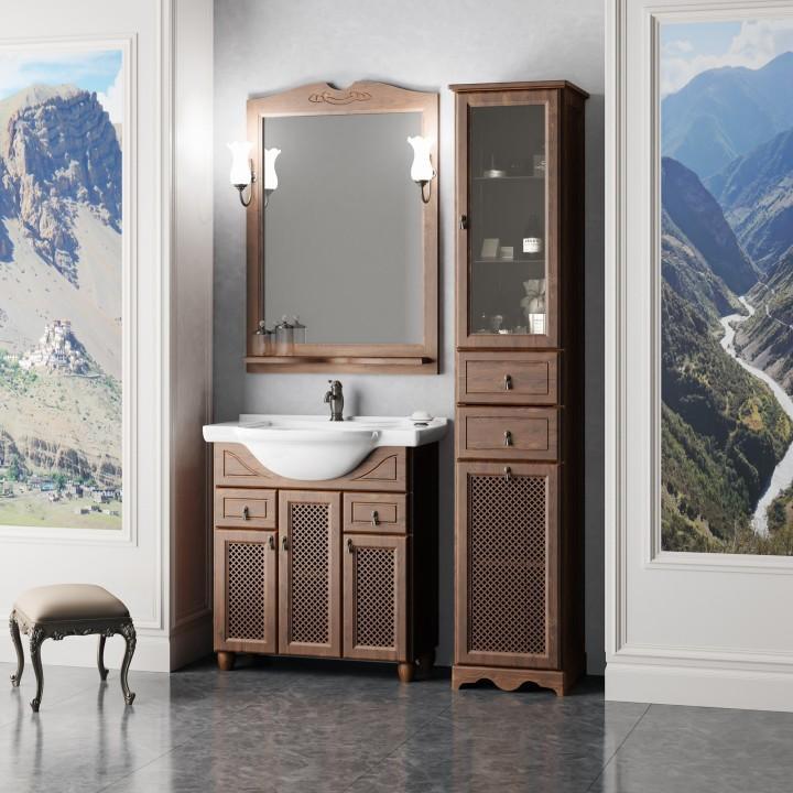 Комплект мебели орех антикварный 77 см Opadiris Тибет TIBET70KOMP46RES