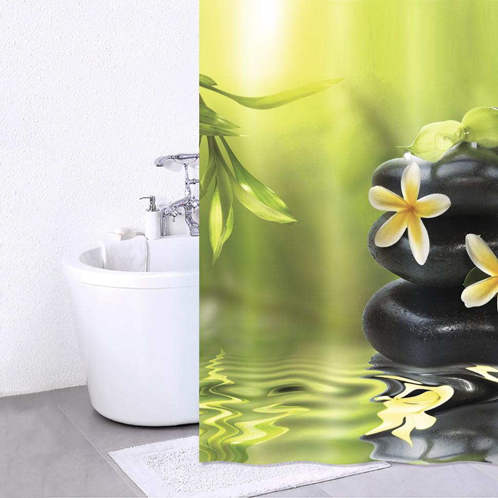 цена на Штора для ванной комнаты IDDIS Spa Therapy 680P18RI11