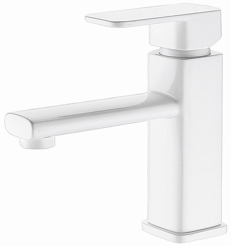 Смеситель для раковины Elghansa Mondschein White 1620235-White смеситель для ванны elghansa mondschein white белый 5302235 white