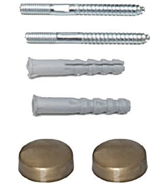 Комплект крепежей бронза для унитаза/биде Tiffany World Bristol TWBRF109-BR комплект горизонтальных крепежей для унитаза биде с колпачками хром kerasan 7614cr