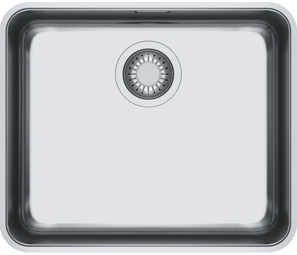 Кухонная мойка Franke Aton ANX 110-48 полированная сталь 122.0204.649 мойка franke pkx 110 34 нержавеющая сталь
