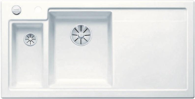 Кухонная мойка Blanco Axon II 6S InFino матовый белый 524142 кухонная мойка blanco axon ii 6s infino матовый белый 524142