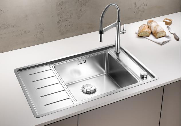 Кухонная мойка Blanco Andano XL 6S-IF Compact InFino зеркальная полированная сталь 523001