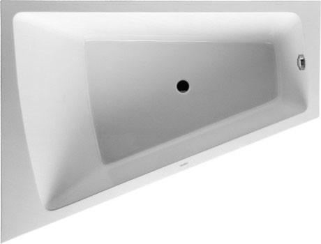 цена на Акриловая ванна 180х140 см L Duravit Paiova 700268000000000