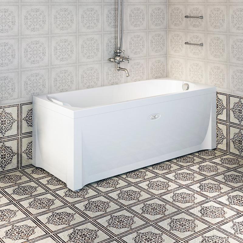 Акриловая ванна 168х75 см Vannesa Кэти 2-01-0-0-1-225