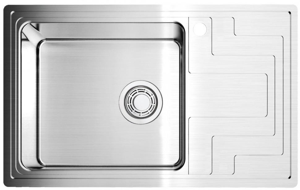Кухонная мойка нержавеющая сталь Omoikiri Mizu 78 L omoikiri mizu 71 1 l