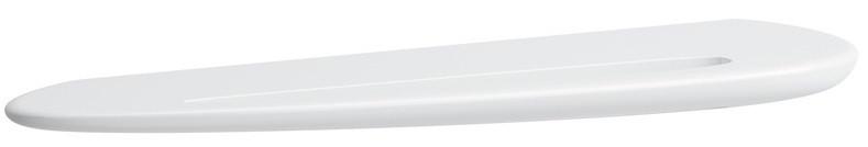 Полочка с полотенцедержателем 63 см Laufen Alessi One 8.7097.2.000.000.1 зеркало 160 см с подсветкой laufen alessi one 4 4844 1 097 200 1