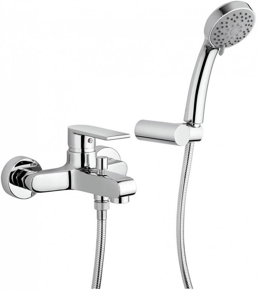 Смеситель для ванны Paini Ghibli 44CR105E термостат для ванны paini lady 89op105thkm