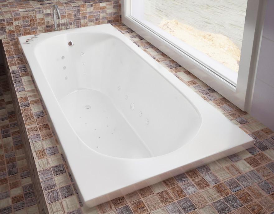 Ванна из литого мрамора 170х75 см Эстет Честер FP00000692 ванна из литого мрамора 170х75 см эстет дельта fp00001681