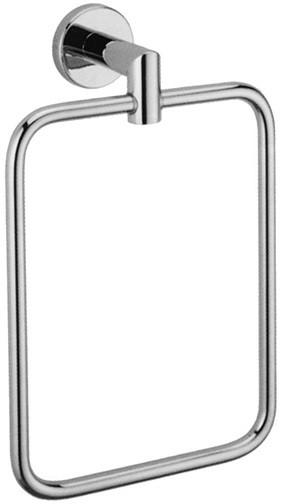 Кольцо для полотенец хром Nofer Line 16504.B