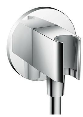Шланговое подключение с держателем для душа Hansgrohe Fixfit Porter S 26487000