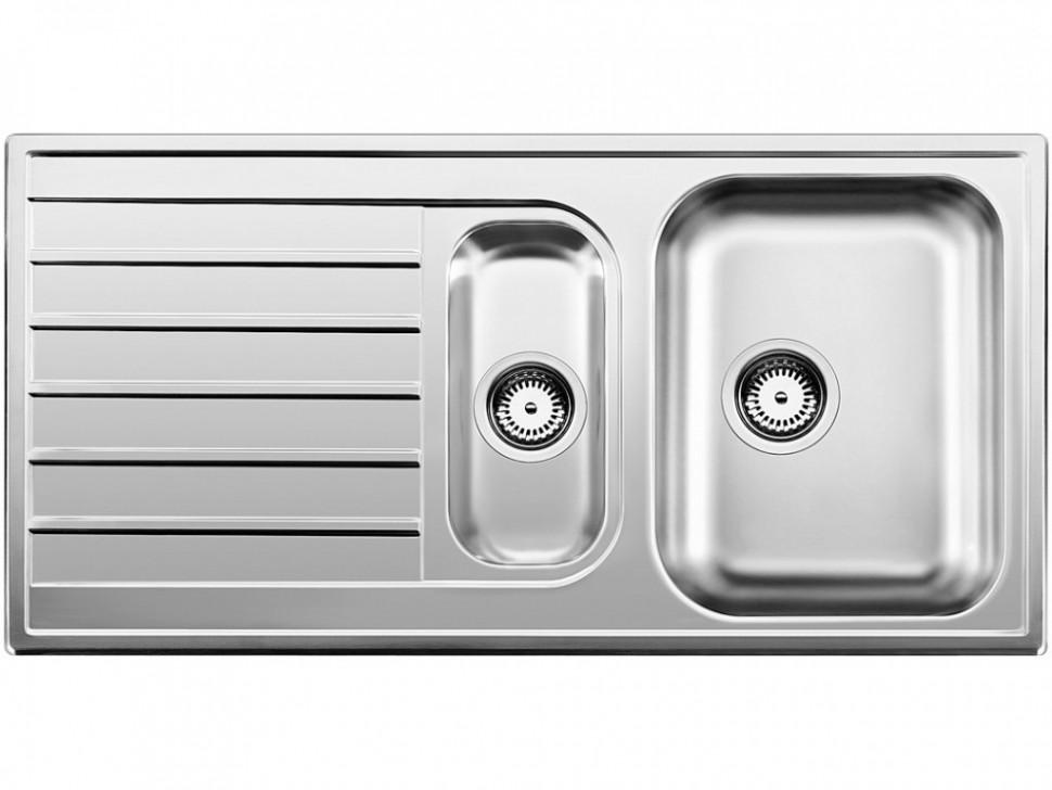 Кухонная мойка Blanco Livit 6S Полированная сталь 514796 цена в Москве и Питере
