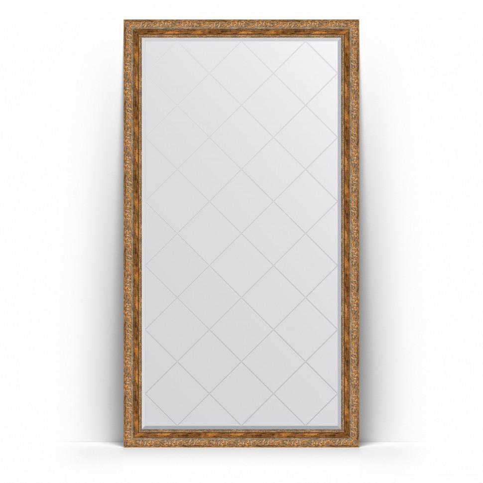 Фото - Зеркало напольное 110х200 см виньетка античная бронза Evoform Exclusive-G Floor BY 6354 зеркало 75х130 см виньетка античная бронза evoform exclusive g by 4230