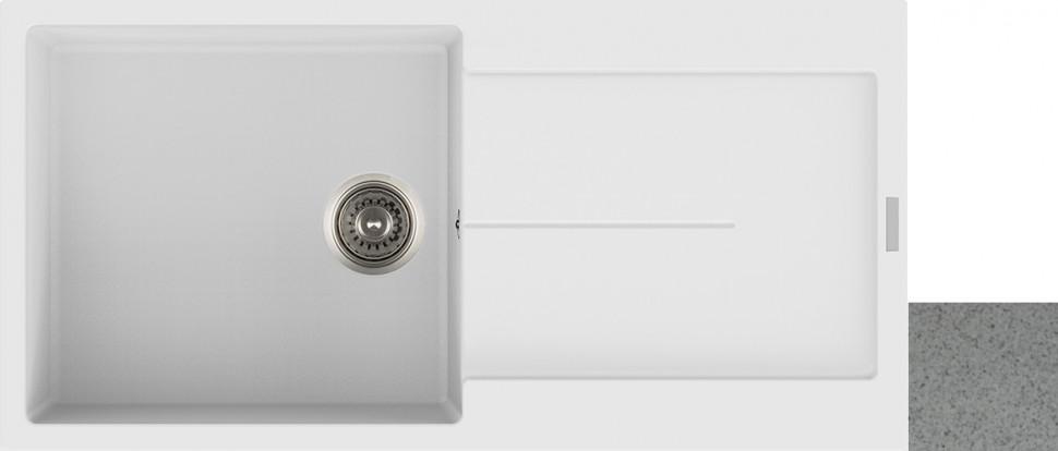Фото - Кухонная мойка арена Longran Enigma ENG1000.500 - 47 кухонная мойка арена longran amanda amg510 47