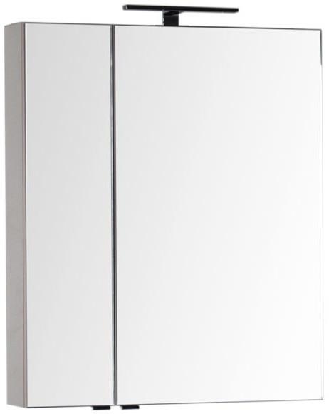 Зеркальный шкаф 69,8х85 см капучино Aquanet Эвора 00184001