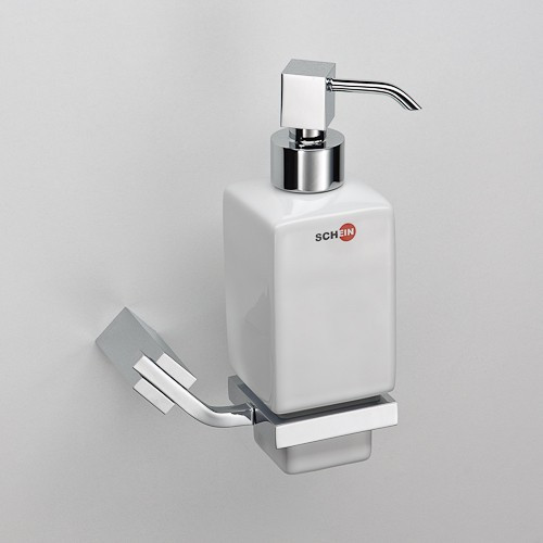 Дозатор жидкого мыла Schein Watteau 122DS-R дозатор для жидкого мыла schein watteau 122d r хром белый
