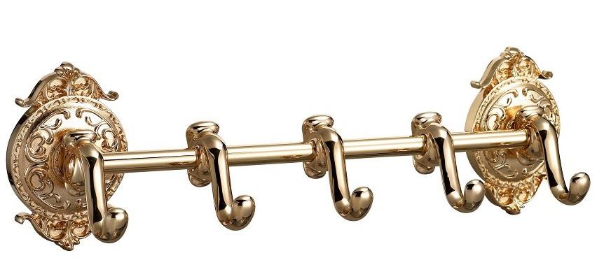 цена на Планка с 5 крючками Hayta Classic Gold 13902-5/GOLD