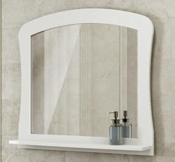 Зеркало 80х84 см белый глянец Comforty Венеция 00003130373