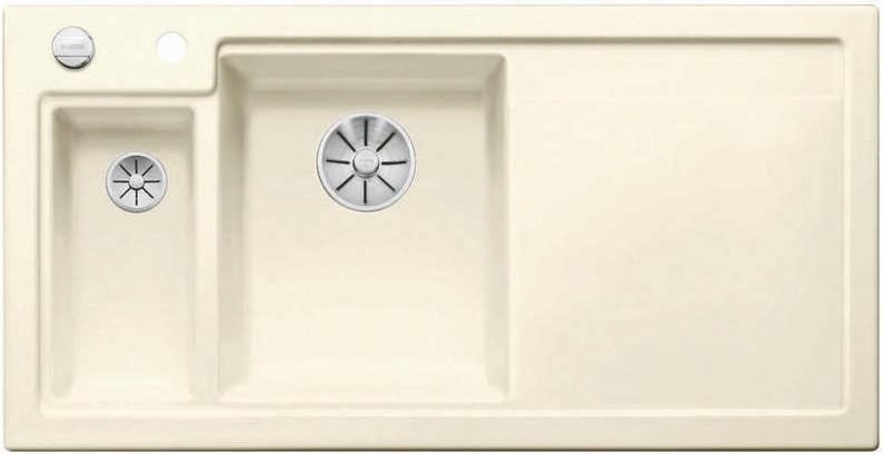 Кухонная мойка Blanco Axon II 6S InFino глянцевый магнолия 524140 schock мойка кухоннаяschock signus 90c c 150 магнолия