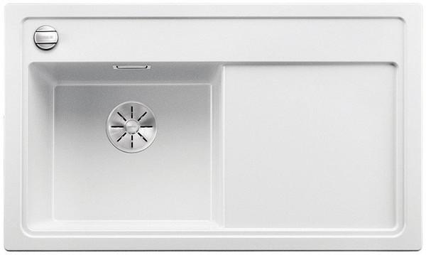 Фото - Кухонная мойка Blanco Zenar 45 S-F InFino белый 523822 кухонная мойка blanco zenar 45 s f infino алюметаллик 523821