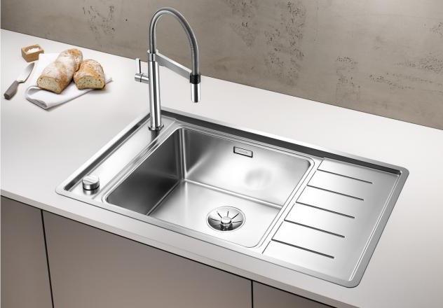 Кухонная мойка Blanco Andano XL 6S-IF Compact InFino зеркальная полированная сталь 523002