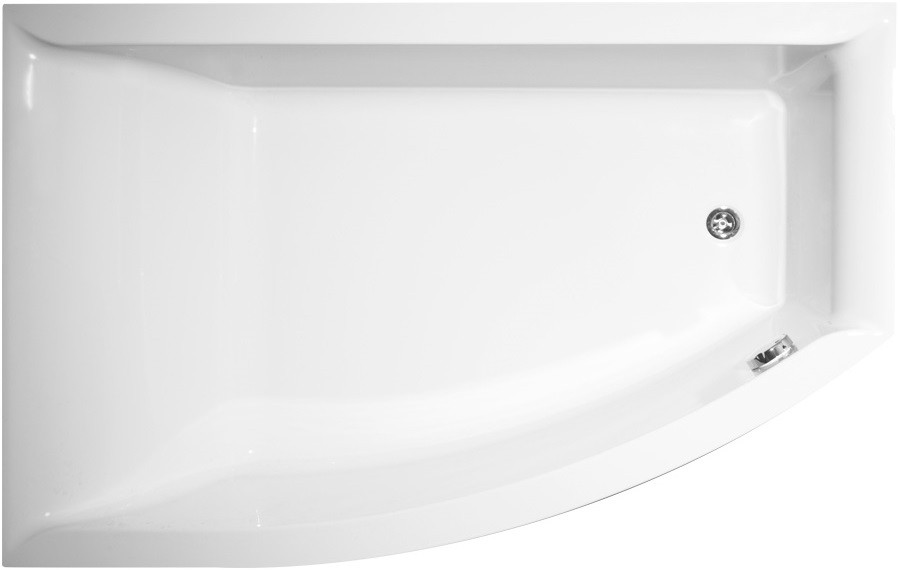 Акриловая ванна 160х105 см L Vagnerplast Veronella offset VPBA160VEA3LX-04 акриловая ванна 160х105 см l vagnerplast selena vpba163sel3lx 04