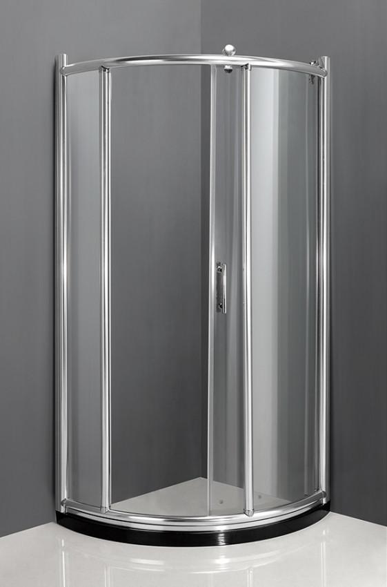 купить Душевой уголок 92×92×200 см прозрачное стекло Ammari Luxe AM-B-2-92 дешево