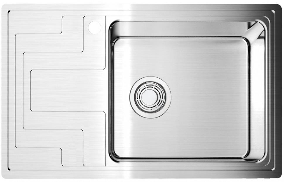 Кухонная мойка нержавеющая сталь Omoikiri Mizu 78 R omoikiri mizu 71 1 l