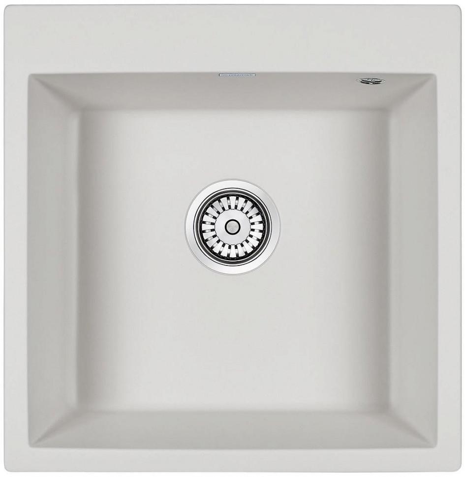 Кухонная мойка Paulmark Praktisch белый PM105152-WH