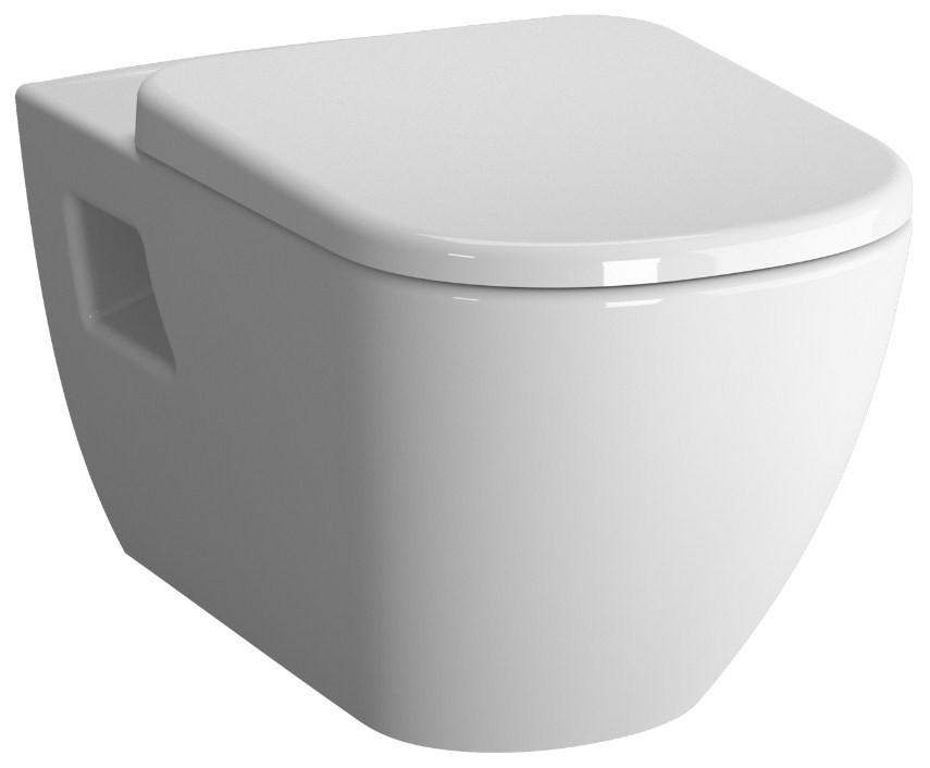 Унитаз подвесной с сиденьем стандарт Vitra D-Light 5910B003-6099 унитаз подвесной с бачком для чистящей жидкости vitra d light 5910b003 1086