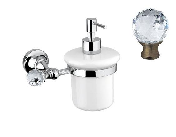 Дозатор для мыла подвесной бронза, swarovski Cezares Olimp OLIMP-SOI-02-Sw дозатор для жидкого мыла cezares olimp olimp soi 02 m