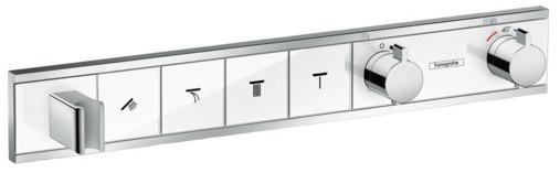 Термостат для 4 потребителей Hansgrohe RainSelect 15357400