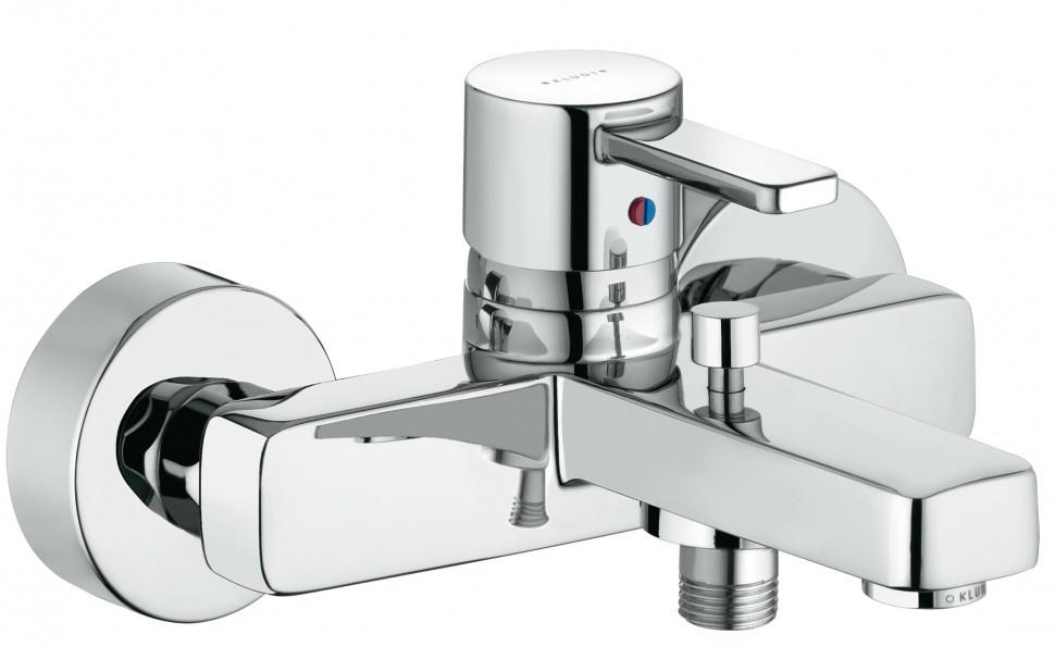 Смеситель для ванны Kludi Zenta 386700575 смеситель kludi для ванны