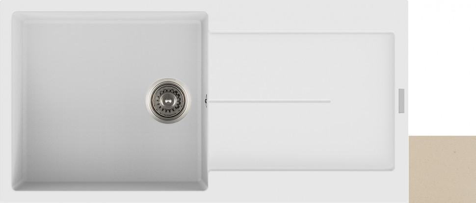 Кухонная мойка колорадо Longran Enigma ENG1000.500 - 08
