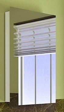 Зеркальный шкаф 50х80 см белый Alvaro Banos Viento 8403.2000 зеркальный шкаф alvaro banos toledo 8409 7022