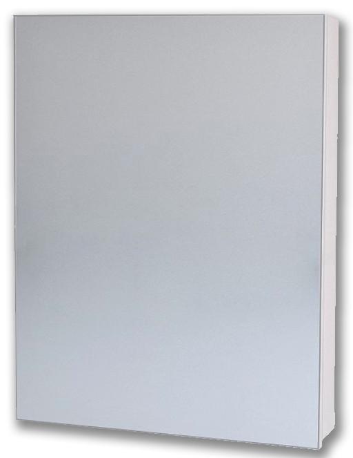 Зеркальный шкаф 50х70 см белый Alvaro Banos Viento 8403.2000