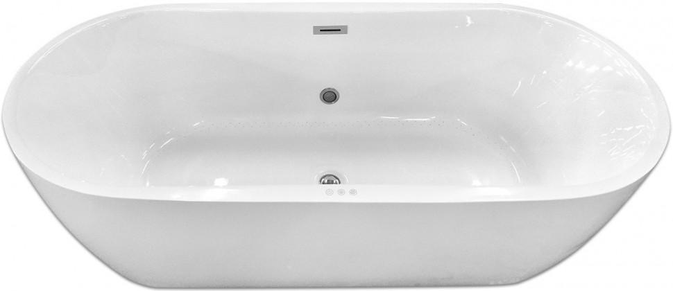 Акриловая гидромассажная ванна 175,5х80 см Abber AB9219 E