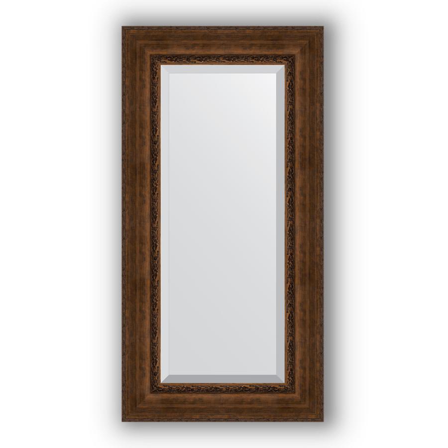 Зеркало 62х122 см состаренная бронза с орнаментом Evoform Exclusive BY 3507