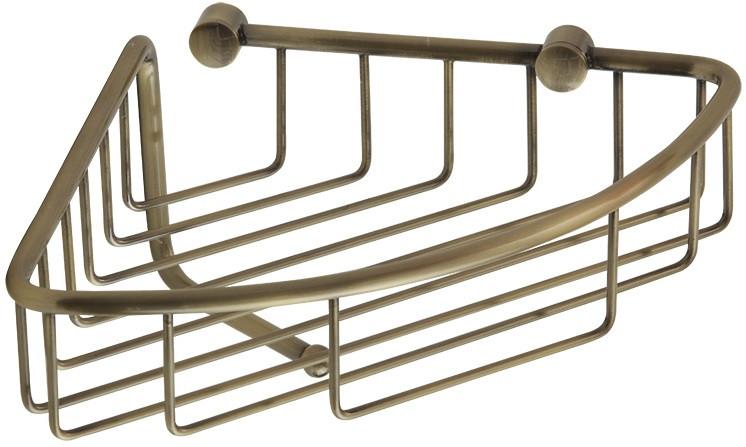 Полка угловая 16,5х16,5 см Veragio Baskets Bronzo VR.GFT-9057.BR фото