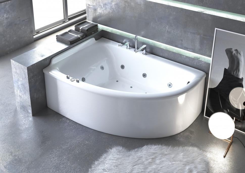Ванна из литого мрамора 182х125 см Astra-Form Анастасия 010102