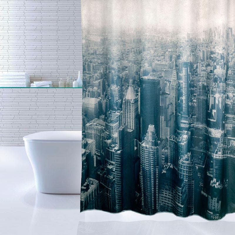 цена на Штора для ванной комнаты IDDIS Megapolis 610P18RI11