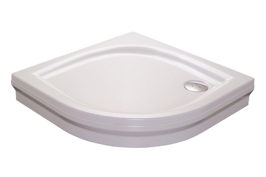Акриловый поддон Ravak Elipso-100 PAN A22AA01410 душевой поддон ravak elipso 100 pan 100х100 см a22aa01410