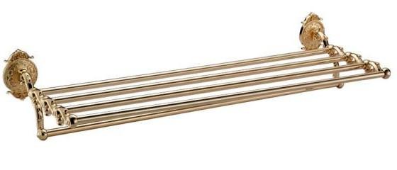 Полка для полотенец 66 см Hayta Classic Gold 13921/GOLD фото