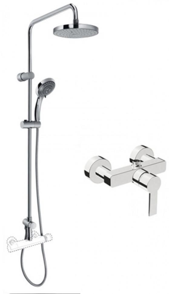Душевая система Vitra Flo S A49234EXP vitra flo s a41937exp для ванны с душем