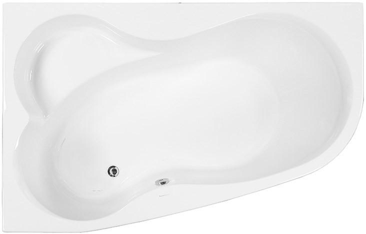 Акриловая ванна 160х105 см L Vagnerplast Melite VPBA163MEL3LX-04 акриловая ванна 160х105 см l vagnerplast selena vpba163sel3lx 04