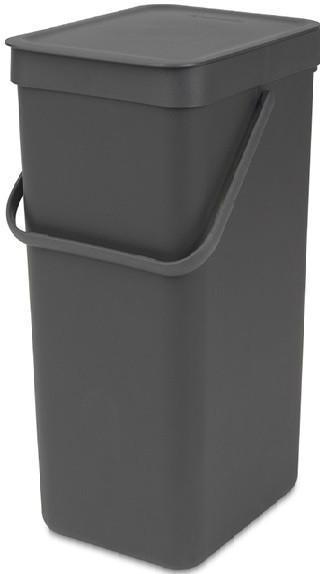 Мусорное ведро 16л Brabantia Sort&Go 109966 мусорное ведро blonder home xhobn015n