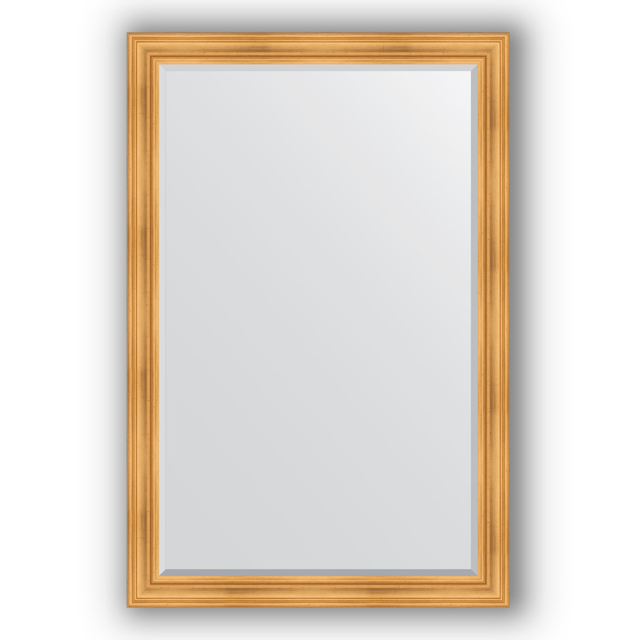 Зеркало 119х179 см травленое золото Evoform Exclusive BY 3626 зеркало evoform exclusive 176х116 травленое золото